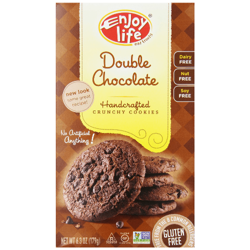 Enjoy Life Double chocolate Crunchy Cookie