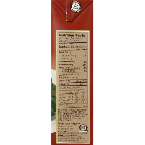 Imagine Organic Cooking Stock Chicken 32-Ounce